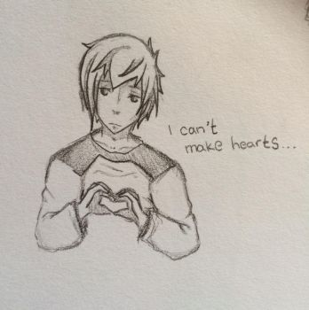 I can't make hearts by AnimeFreak1998