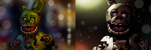 Springtrap Test Light 3 and 4 [C4D] by YinyangGio1987