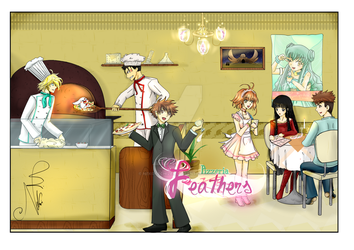 Contest - Feathers Pizzeria by Nekoi-Echizen