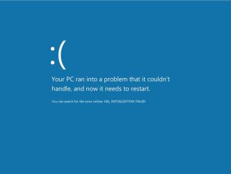 Windows 8 BSOD Official by Randydorney