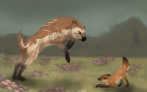 Ring Around The Fox by depictured