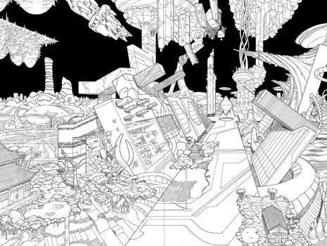 Avengers AI #3 spread by erdna1