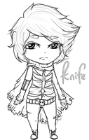 Knife :Commision: by PyoPop