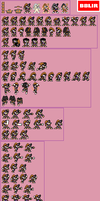 Bass custom sprite sheet by BBLIR