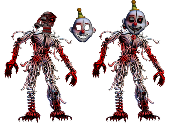 The Monster Ennard by shadowNightmare13