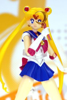 S.H.Figuarts Sailor moon by uraasa