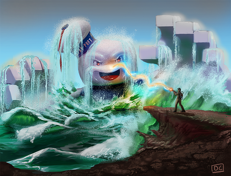 That Time I Conquered Stay Puft by MegaDaniel
