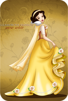 Glamorous Fashion - Snow White by selinmarsou