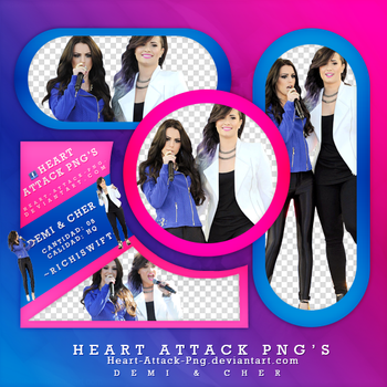 Photopack Png Demi Y Cher by Ricardo-Swift22
