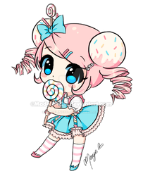 Candie-Chibi [Happy Birthday Carissa] by MadelineCG