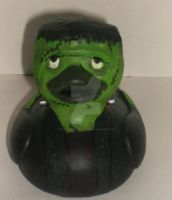 Frankenstein's Monster Duck by BlueSaltwaterTaffy