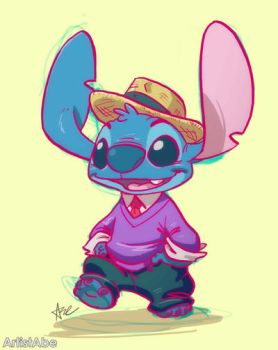 Dapper Stitch by ArtistAbe