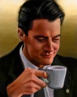 52 Portraits #32: Dale Cooper by rflaum