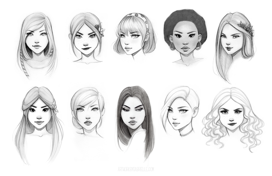 Character Drawing Class by GabrielleBrickey