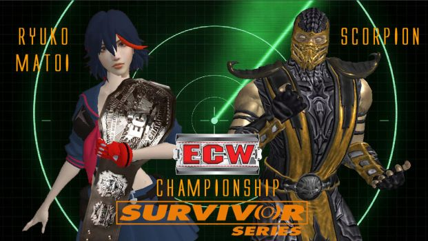 Survivor Series 2017 - No Holds Barged Match by JoeyTribbiani125