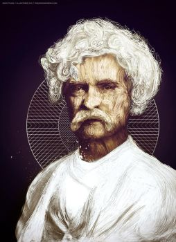 MARK TWAIN by TheUnknownBeing