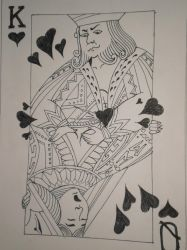 the king and queen of hearts by albesbart