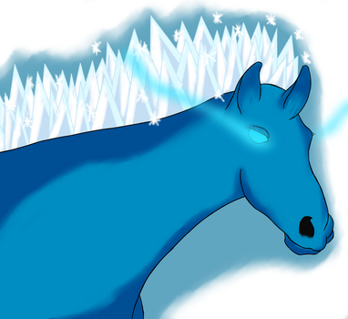 Ice Horse by ConnorSparda