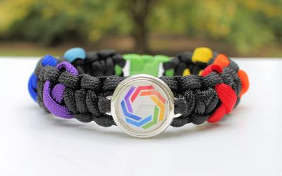 Autistic Self Advocacy Network Paracord Bracelet by Darqflame
