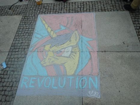 Chalk picture copy of Cadence (original by Fr3zo ) by Easterforest92
