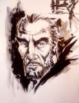 Christopher Lee tribute by mistermoster