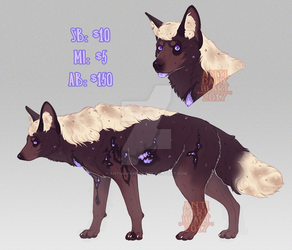 Beast Adoptable Auction 2 - CLOSED by AntiDarkHeart