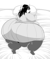 B/W Comm: Fatamote -back- by Trinity-Fate