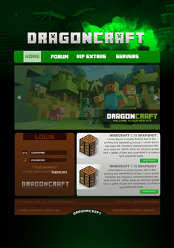 Minecraft desgin v1 by homicide01