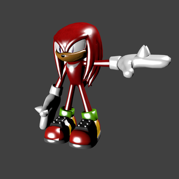 Knuckles the Echidna by Boys-fox-100