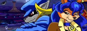 Sly Cooper by wolfhowler14