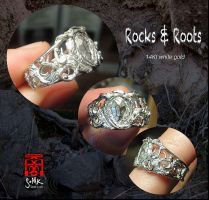 Rocks and Roots ring by somk