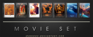 Movie DVD Icons 17 by manueek