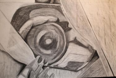 Charcoal A1 reflections by Wriga