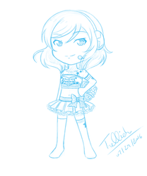 [July Sketch] Takaramonos (Love Live!) by trelliah