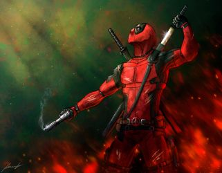 Deadpool by LouizBrito