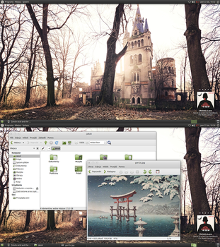 Uncle Acid and Ubuntu-MATE desktop screenshot by Dolsilwa