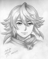 NY Corrin sketch - Fire Emblem Heroes by RealTRgamer