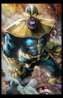 Thanos Colored by hanzozuken