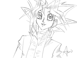 Yugi DSOD Screenshot Sketch by rainbow-ravens