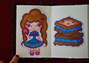 Chocolate Girls: pages 5 and 6 by uvita
