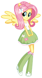 Fluttershy (Equestria Girl) by litingphires