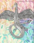 Dragon of Color by juhessica