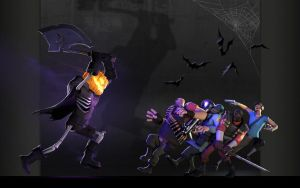 Halloween in Team Fortress by Milek988