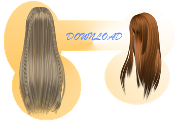 [MMD] LONG HAIRS [+DL] by Sims3Ripper