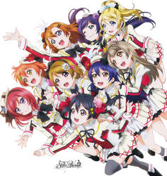 [Render #83] Love Live! School Idol Project by stella-reina