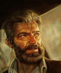 Old man Logan by ArtofOkan