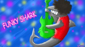 Funky Shark by MaryShan