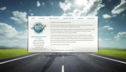 Aero Website by ipholio