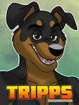 Tripps Badge by blake-illustrate