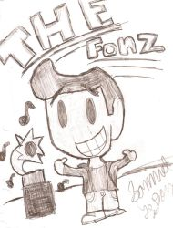 the fonzi by evillizard91